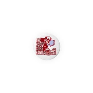 ハードコアパンダ(イス&蛍光灯) Badges