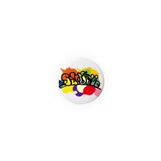Slidrive缶バッヂ32mm~56mm Badges