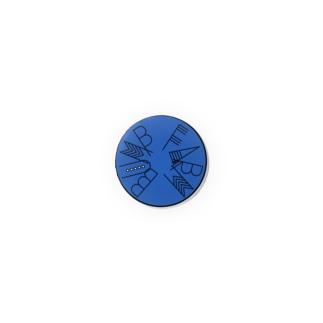 BUMP(青) Badges