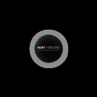 著作権フリーBGM配布サイト HURT RECORDの著作権フリーBGM配布サイト HURT RECORD ロゴ・シンプルK Badges