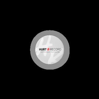 著作権フリーBGM配布サイト HURT RECORDの著作権フリーBGM配布サイト HURT RECORD ロゴ・カジュアルW Badges