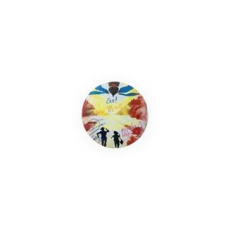 N.A.O-騎- × ユキンコ コラボTシャツ Badges