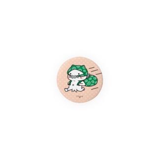 缶バッジ『泥棒猫』 しらたまとタマクロー  Badge