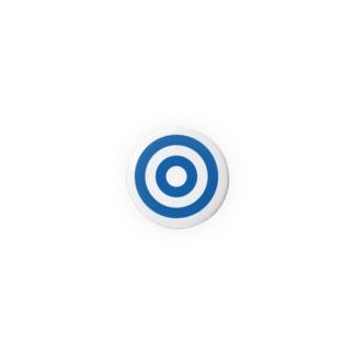 蛇の目(ブルー) Badges