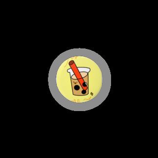 gajigajilandのタピオカミルクティーs Badges