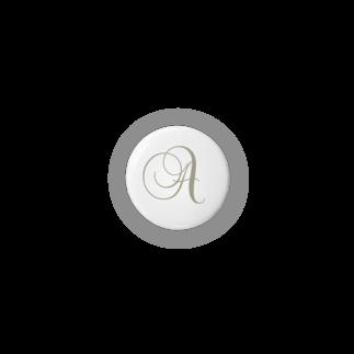 Atelier Pechi / アトリエ・ペチのINITIAL [A] Badges