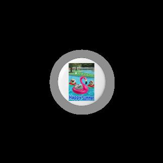 みにゃのペキッコ倶楽部(夏だプールだ) Badges