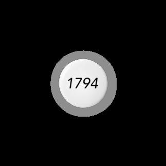 00_irohaの1794(黒) Badges