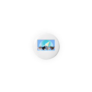 保護猫カフェ「駒猫」さん家のNo.7 フルーツ4兄弟♪ Badges