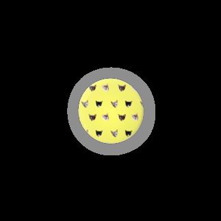 保護猫カフェ「駒猫」さん家のNo.8 フルーツ4兄弟 ドット♪ Badges