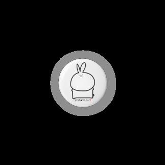 usa  factoryのシンプルうさ Badges