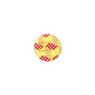 こんぺいとう缶バッチ7号 Badges