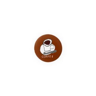 コーヒー のらしおん Badges