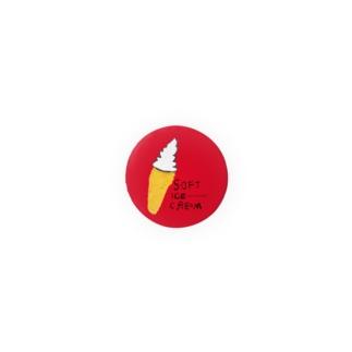 ソフトクリーム のらしおん Badges
