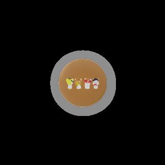 りえの秋色子グマ Badges
