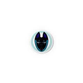 狐面─竹─ Badges
