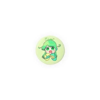ミニチョま缶バッチ Badges