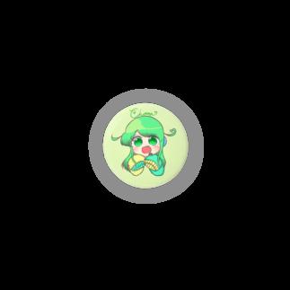 チョま└(•💚•)┘のミニチョま缶バッチ Badges