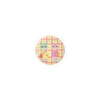ミラベル チェック柄 Badges