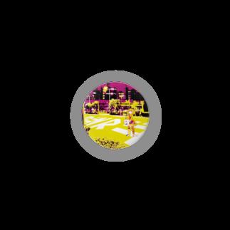 コちゃんの売り物の試作缶バッチ Badges