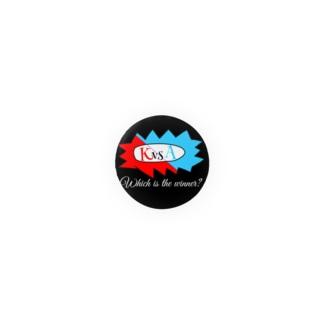 KvsA!対決缶バッジ! Badges