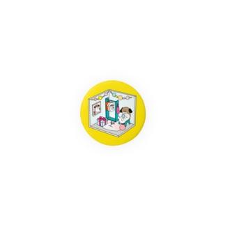もじゃまるくつろぎ Badges