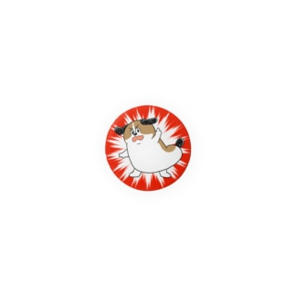 もじゃまる抗議 Badges