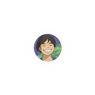 Ghib Ojisanの缶バッジ Badges