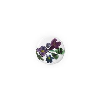 あじさい(紫) Badges