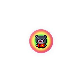 ウソテクマ缶バッジ Badges