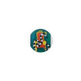 へびの王様 Badges
