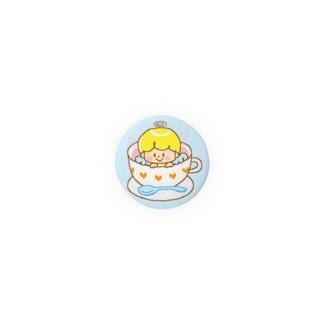 天使(カップ)の缶バッジ Badges