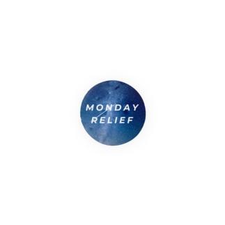 MONDAY RELIEF Badges