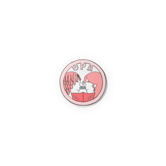 UPA缶バッチ_PINK Badges