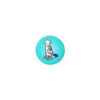 いかボクサー バッジ Badges