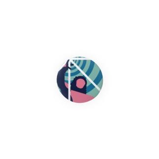 板橋バッジ(平和祈念像) Badges