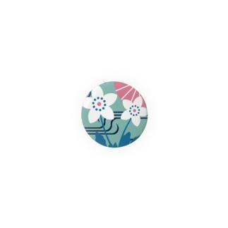 板橋バッジ(二輪草) Badges
