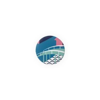 板橋バッジ(板橋宿) Badges
