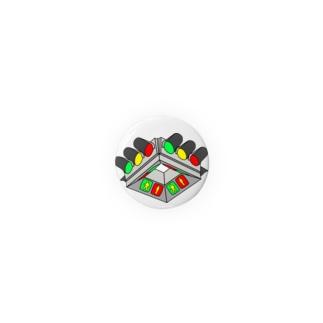 UFO型信号機 Badges