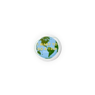 I want to go a trip 旅に出たい Badges