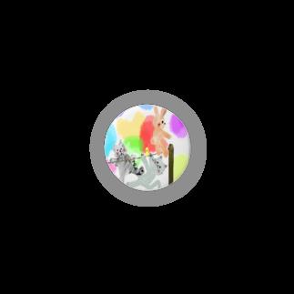 ʚ一ノ瀬 彩 公式 ストアɞのゆめかわアニマル:通常【犬猫鳥兎】 Badges