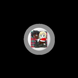 まきむらの黒白クリスマス Badges