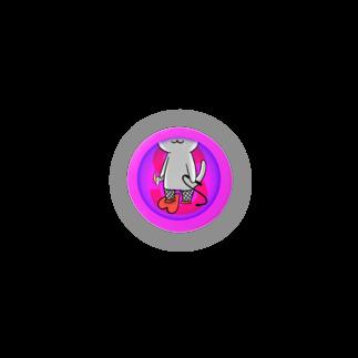 PygmyCat suzuri店のSニャン 缶バッジ
