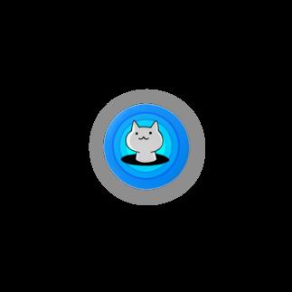 PygmyCat suzuri店のはまったニャン Badges
