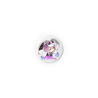 ʚ一ノ瀬 彩 公式 ストアɞの一ノ瀬彩ちびキャラ:LOGO付【ニコイズム様Design】 Badges