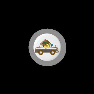 コメビツくんのイネカリ警部の旧式パトカー Badges