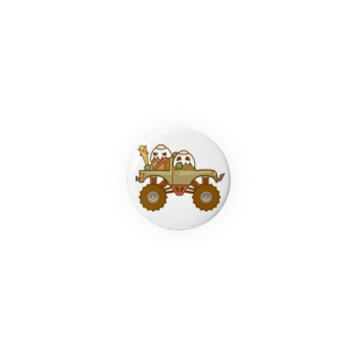 コメビツくんのガパオ族のモンスタートラック Badges