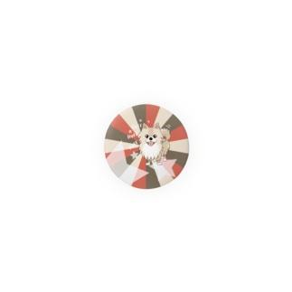 32mmぽめるのキラキラ缶バッチ Badges