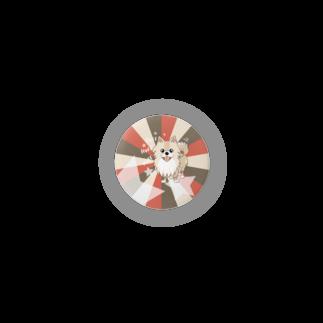 ぽめる堂 Monyaa.tagの32mmぽめるのキラキラ缶バッチ Badges
