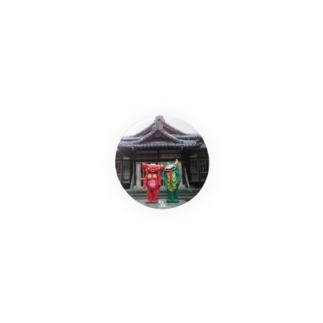 ベッコスとムーチョ 2 缶バッジ